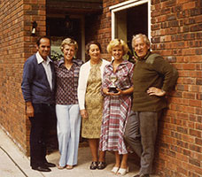 Cynthia Nicholas, Audrey, Cindy and Ray Scott